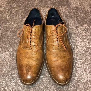 Cole Haan Camel Brown Men's Dress Shoes